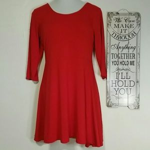 Juniors Express red tunic size L